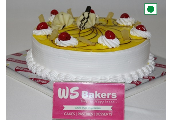 Buy Pineapple Cake From Ws Bakers Online Birthday Cake Delivery In